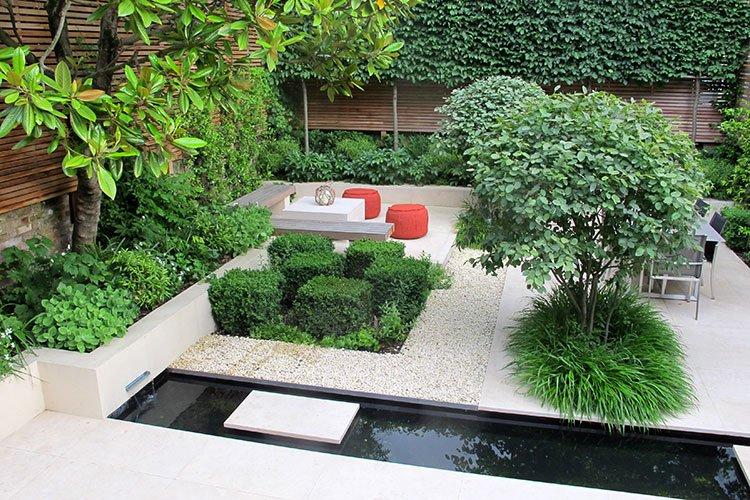 Charlotte Rowe Garden Design The List House Garden